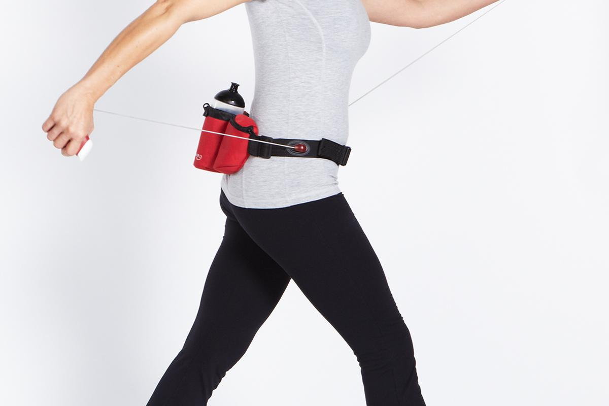 Get your arms more involved in the walk