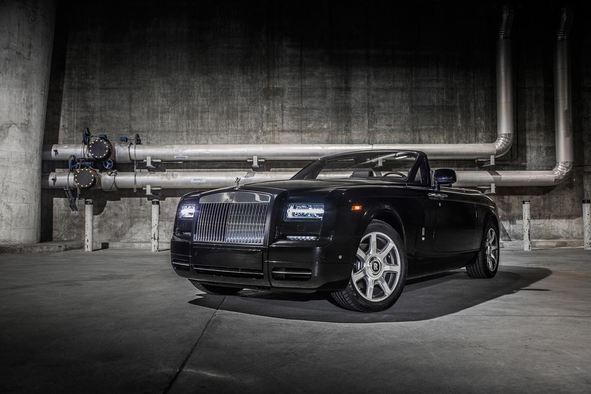 "The Phantom Drophead Coupé ""Nighthawk"" is part of Rolls-Royce's Bespoke collection"