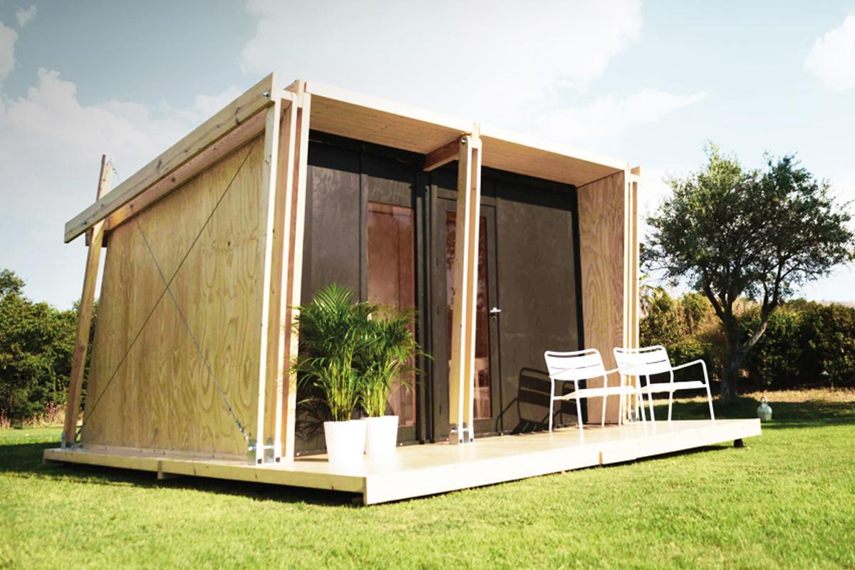 The Vivood could serve as glamping retreat, guesthouse, or a basic tiny house (Photo: Vivood)