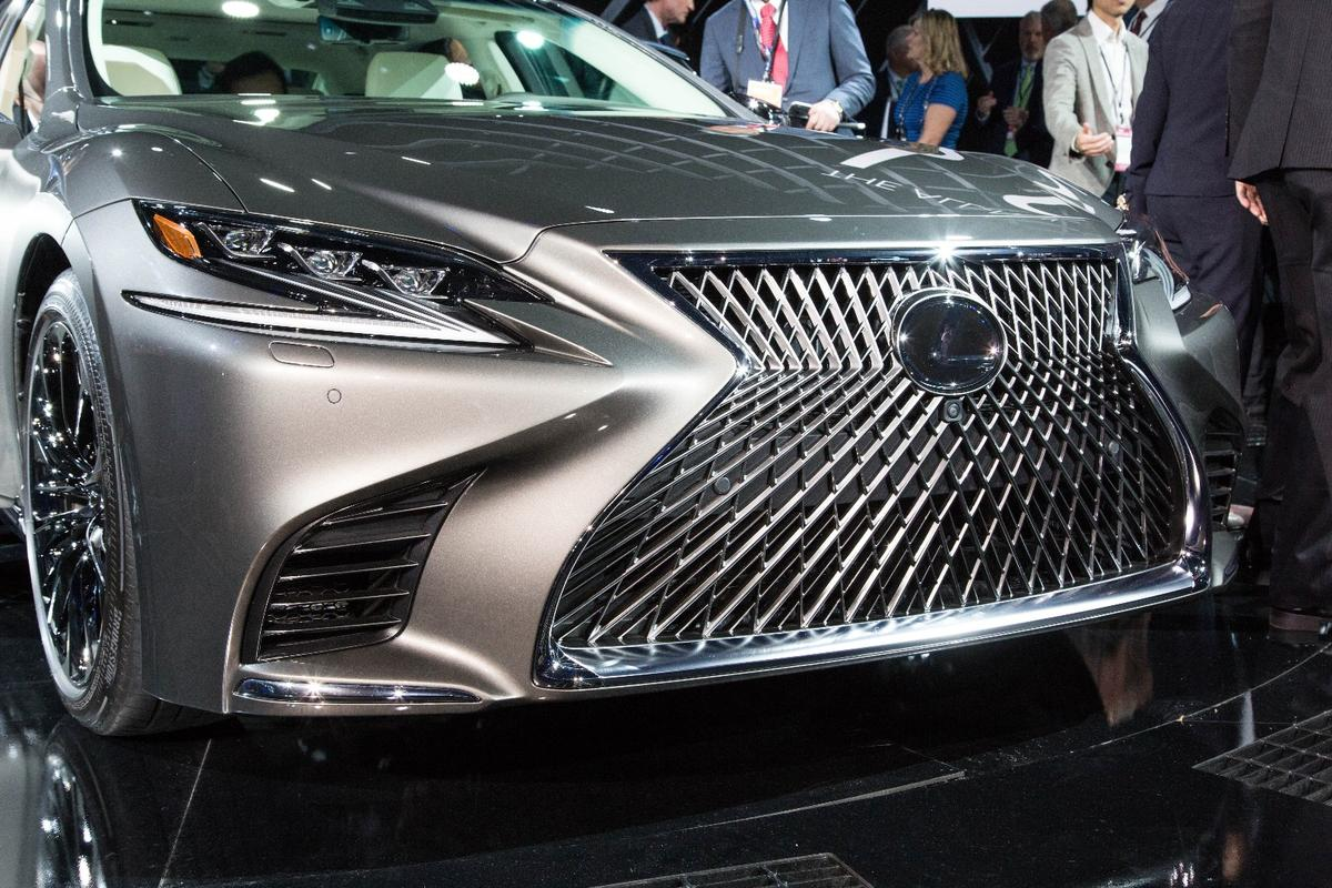 The grille on the LS500 is going to turn some drivers off