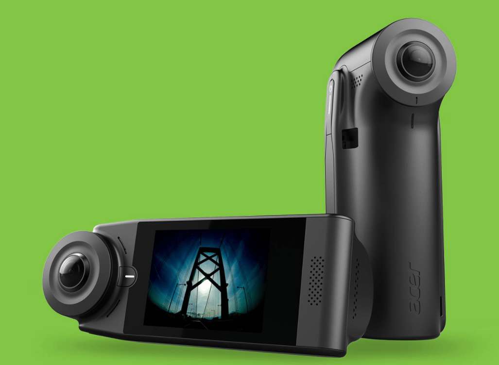 The Holo360 camera, launched by Acer at IFA