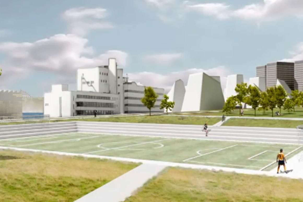 The Eindhoven field-lab will serve as a testing bed for the first 4D Sportsground
