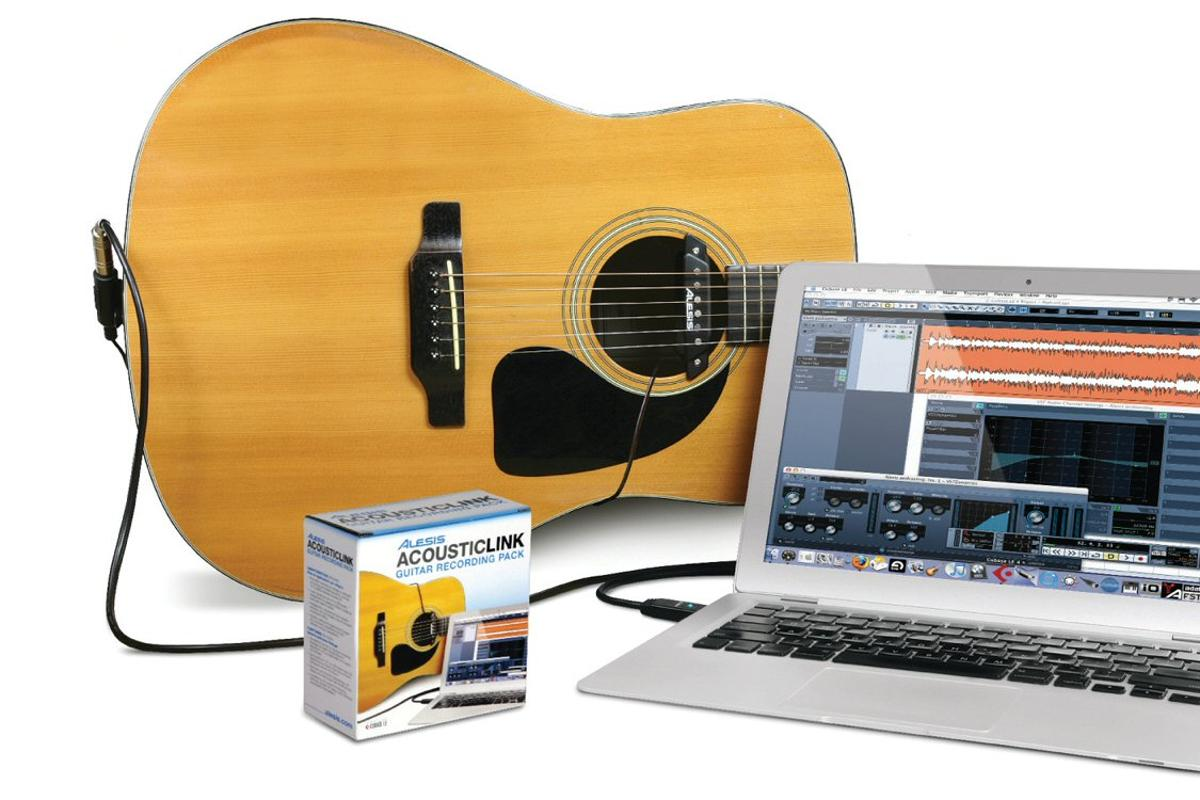 The AcousticLink guitar interface for acoustic players
