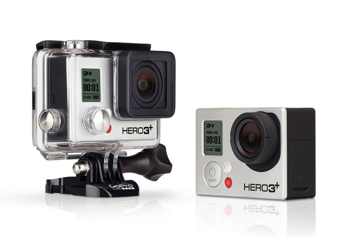 The new Hero3+ actioncams from GoPro