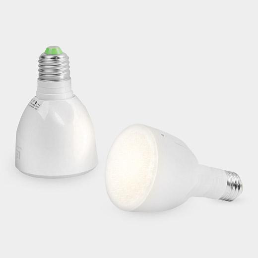 The Bulb mounts in any standard screw-type fixture, and uses six watts of power to produce a light output equivalent to that of a 40-watt incandescent bulb