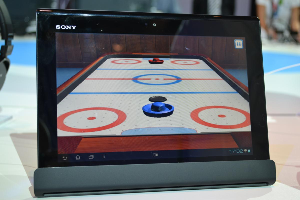 Sony's Xperia Tablet S joins the Xperia stable