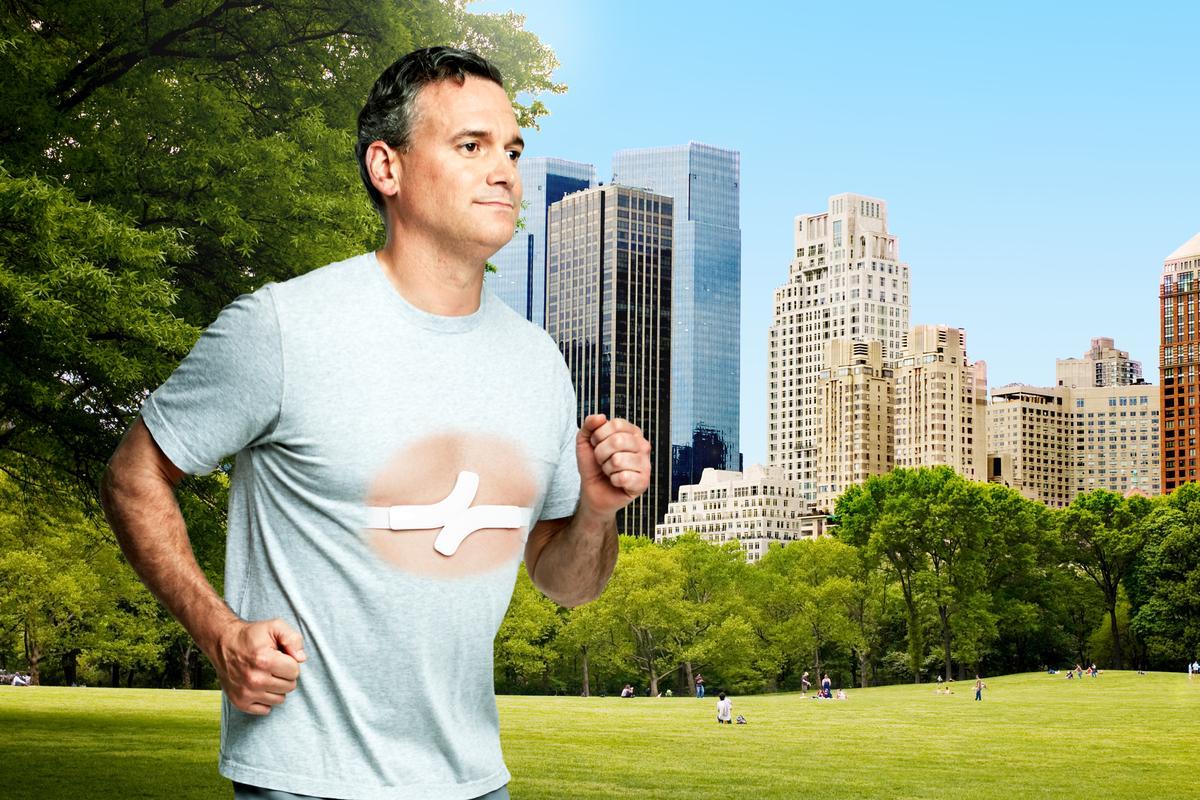 Qardio's QardioCore monitors EKG, physical activity, heart rate and skin temperature