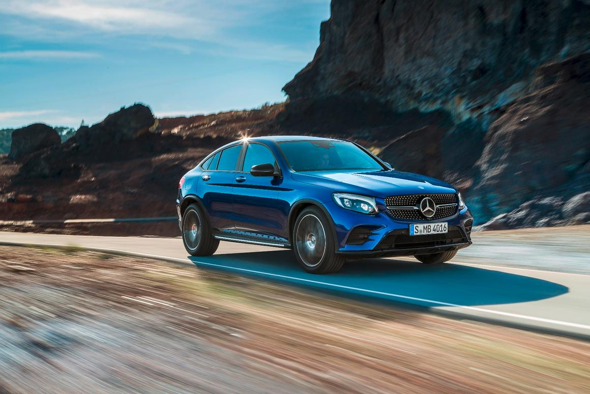 Making the jump from concept to production, the GLC Coupe is the latest in Mercedes' fast-growing SUV stable