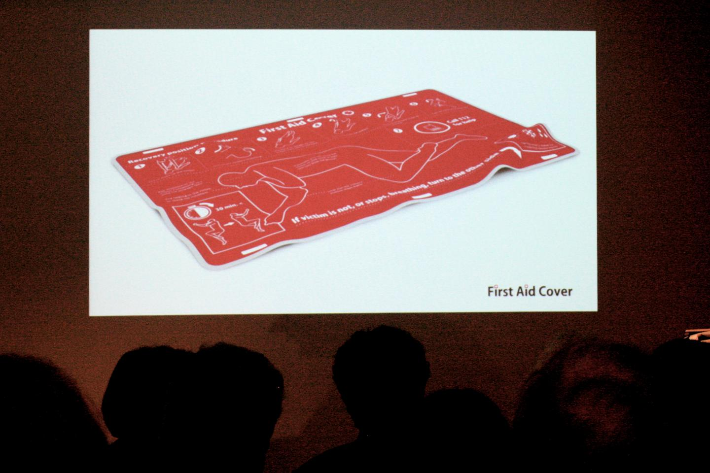 BraunPrize Runner-up: First Aid Cover by Finnish student Jussi Koskimaki