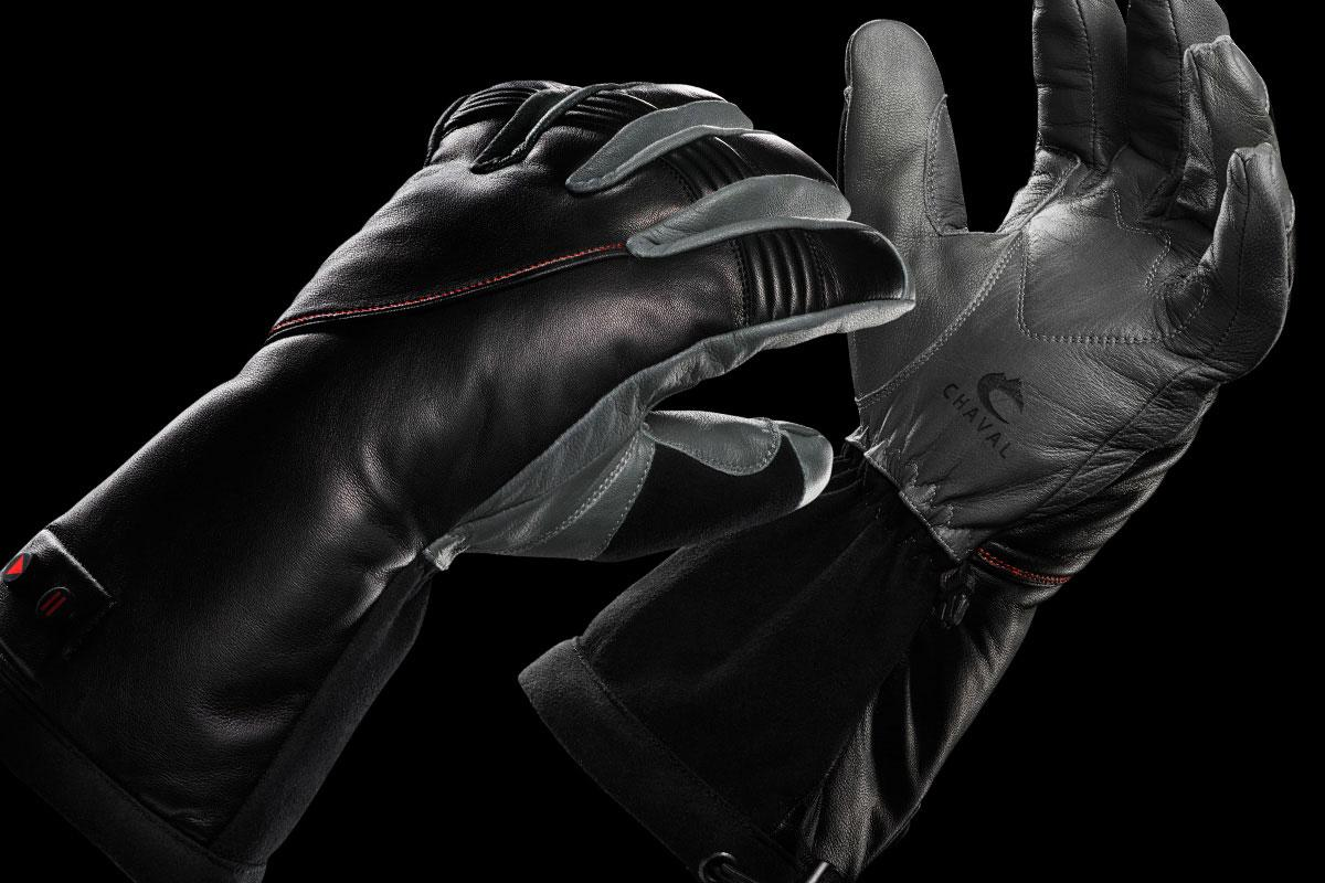 Chaval's Response XRT heated gloves