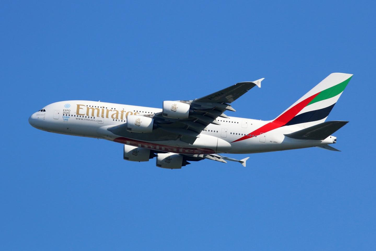 The Airbus A380 is the world's largest airliner, and Emirates flies more of them than any other airline