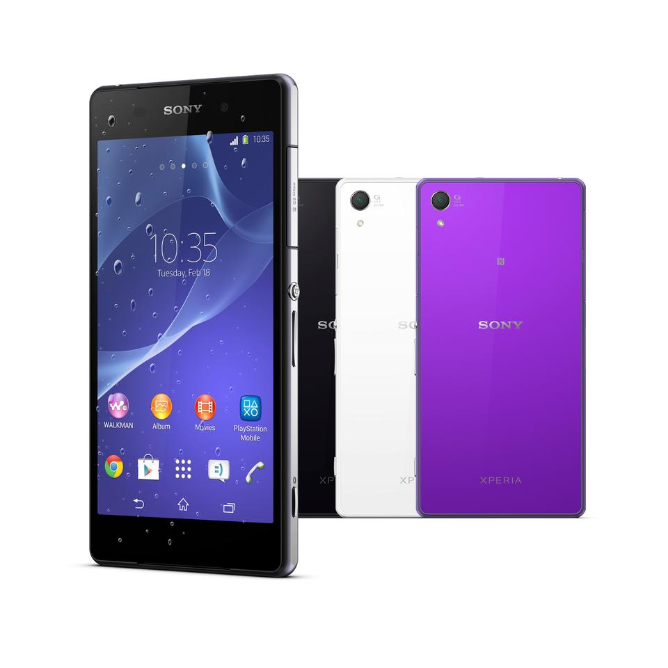 The Sony Xperia Z2