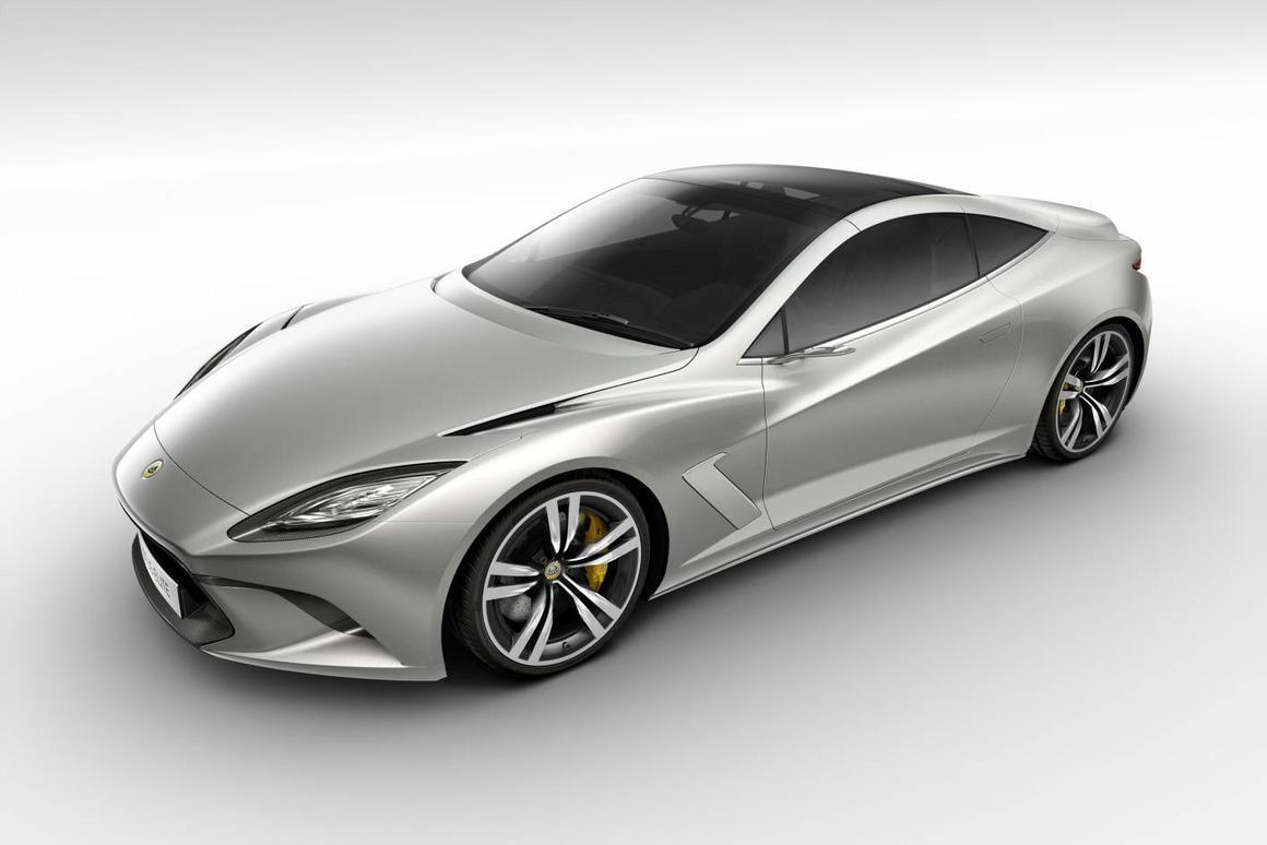 Lotus Elite will make its public debut at the 2010 Paris Motor Show