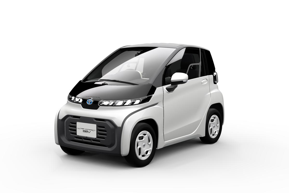 Tiny, slow, affordable and practical: Toyota will release this ultra-compact electric car in Japan in 2020