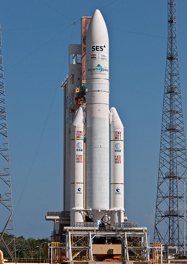 An Ariane rocket (Image: ESA/CNES/Arianespace/Optique Video du CSG)