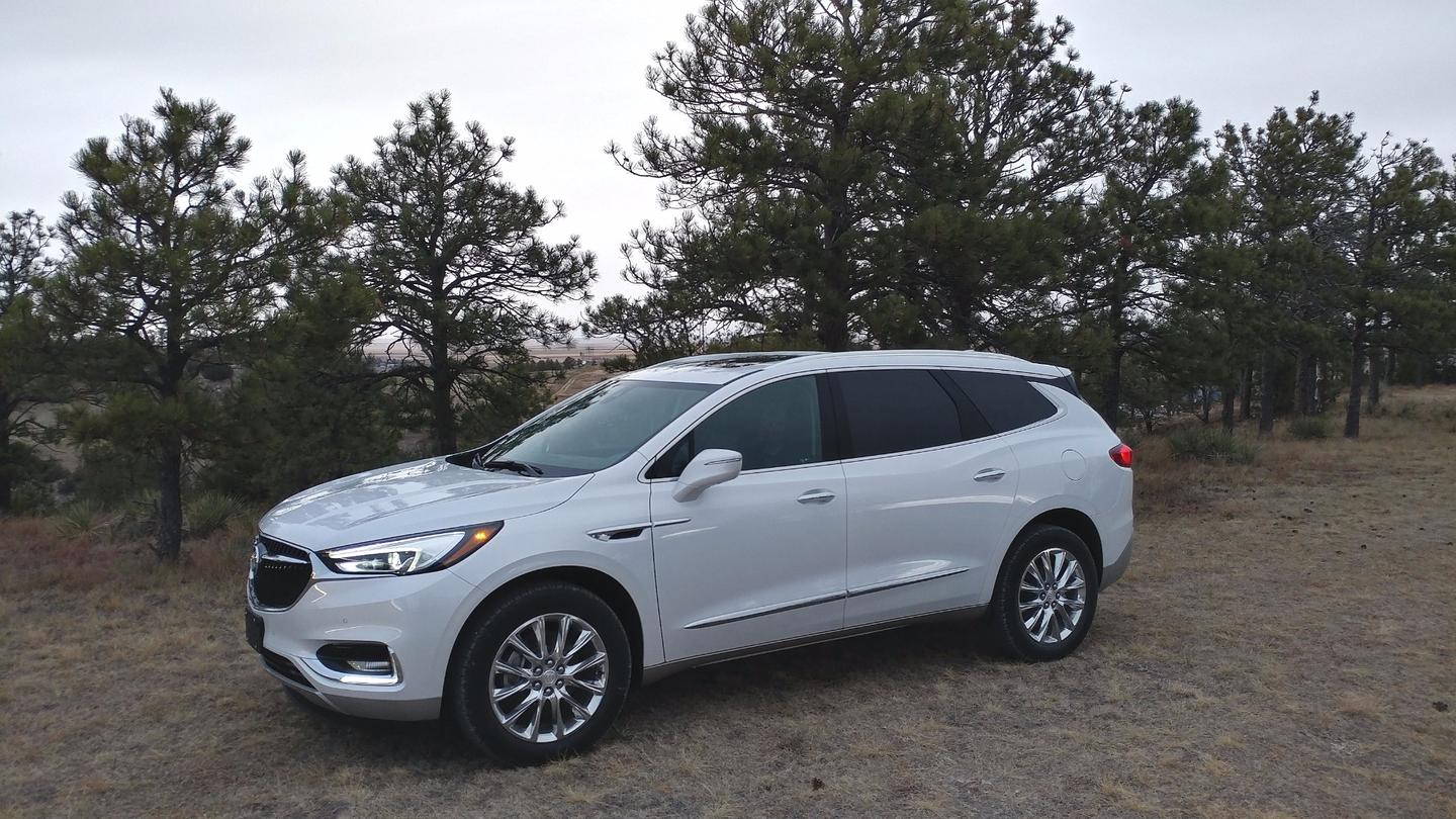 The Enclave debuted a few years ago as a premium-level three-row crossover built on the Chevrolet Traverse platform