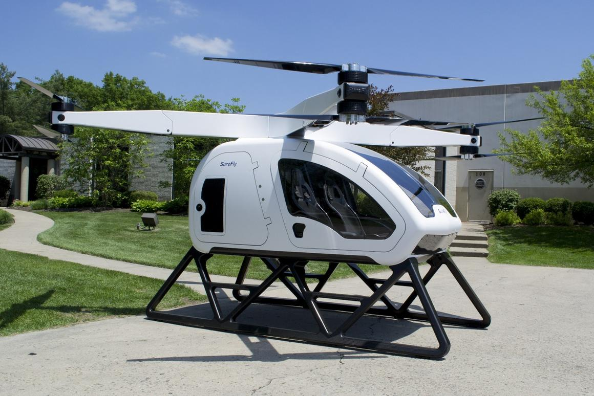 The Workhorse Surefly has a range of approximately 70 mi (112 km)