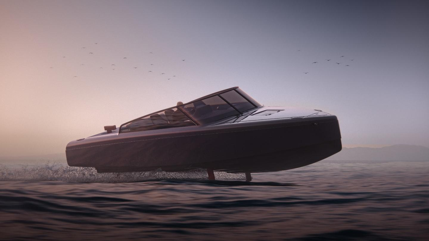 Candela claims its new C-8 has the longest range of any electric boat in history