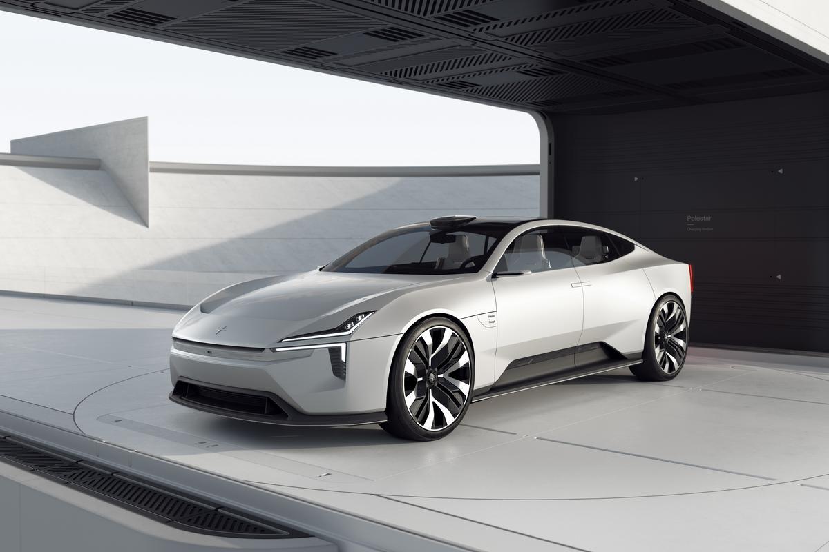 The sporty GT concept definitely shows a brighter future for Polestar design