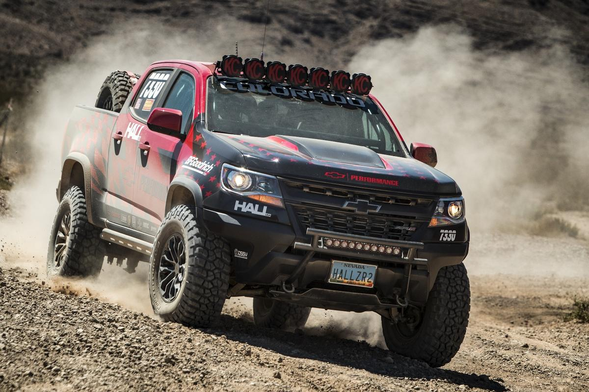 Outside of some safety and race-required changes, the Colorado ZR2 is otherwise stock off the shelf for competition in the 7300 midsize stock pickup truck class