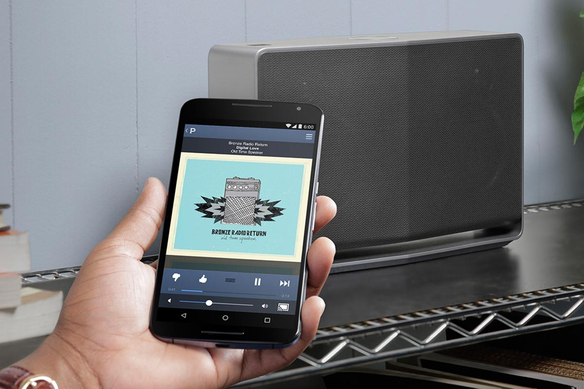Google Cast for audio will allow users to stream internet audio services wirelessly to compatible speakers