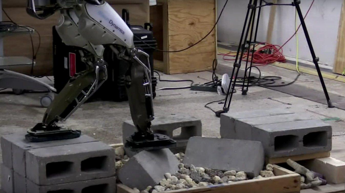 A new algorithm ensures steady footing for the Atlas robot