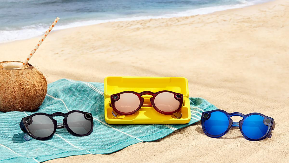 The new Snapchat Spectacles come in a choice of three colors