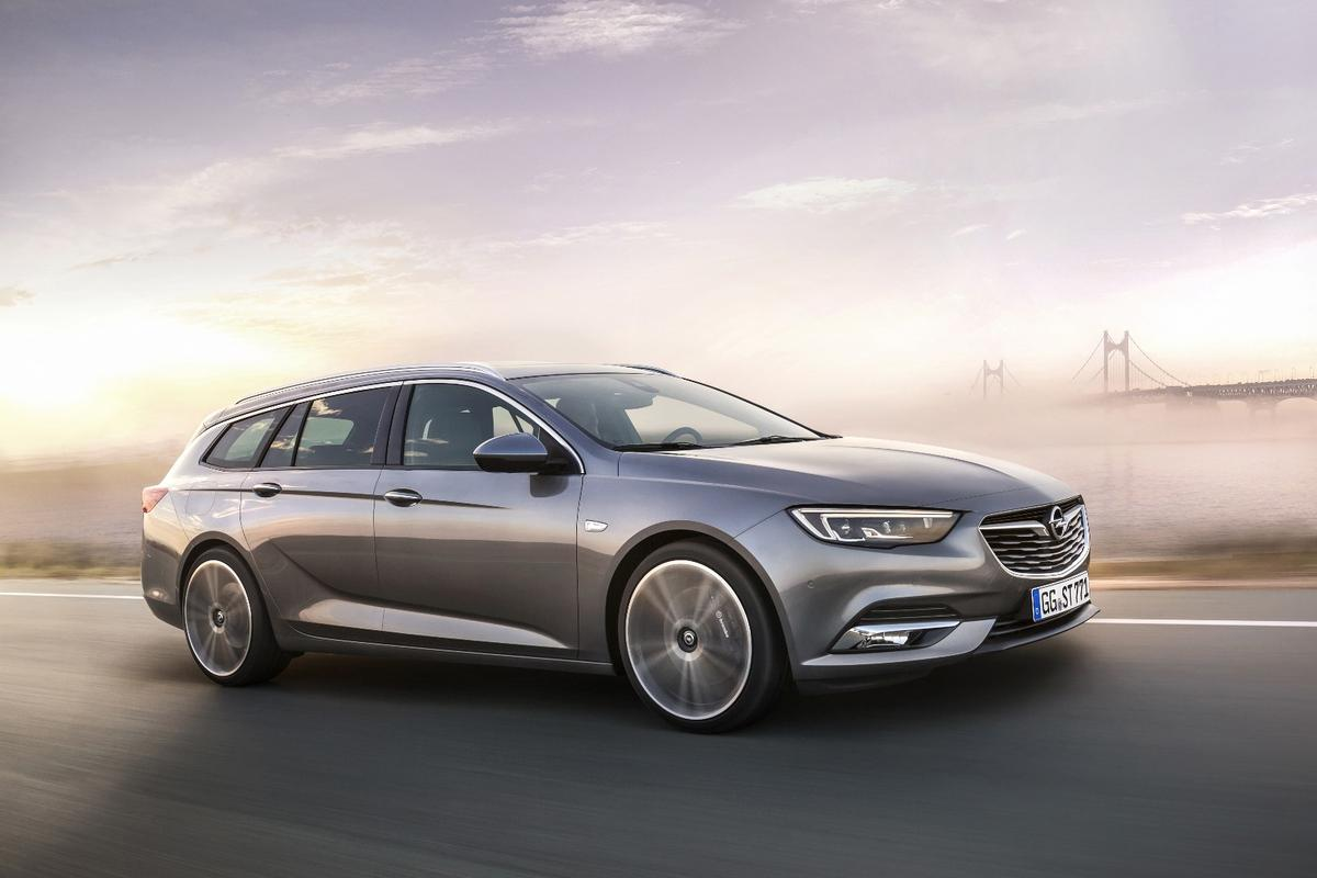 The Insignia Sports Tourer is a good looking wagon