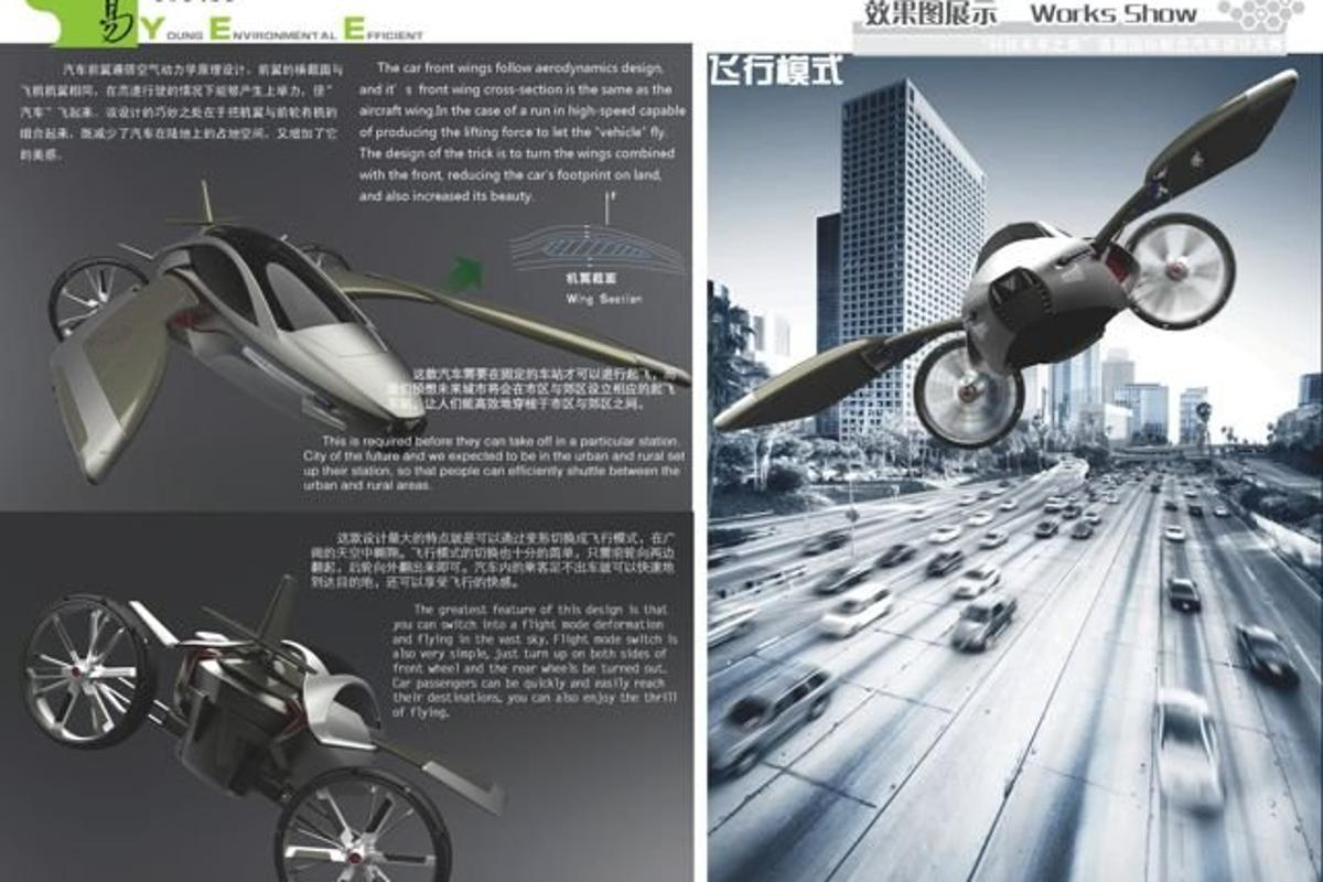The YEE flying car concept