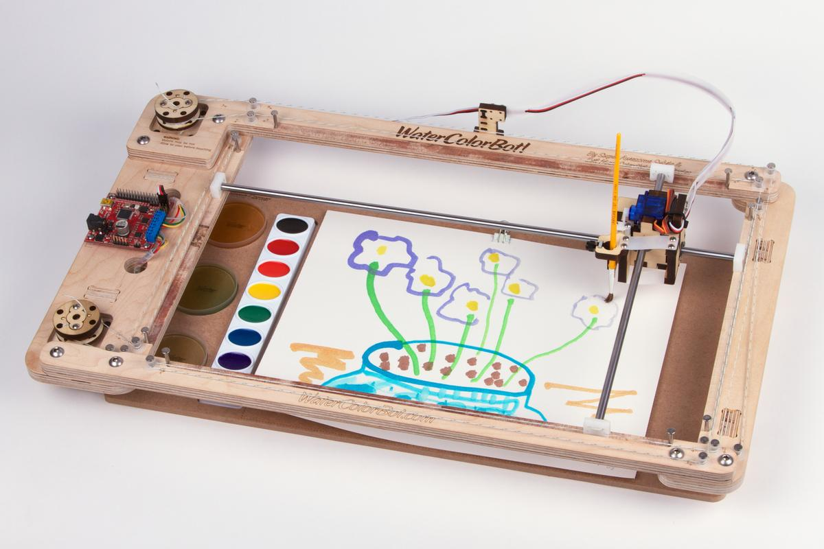The WaterColorBot painter