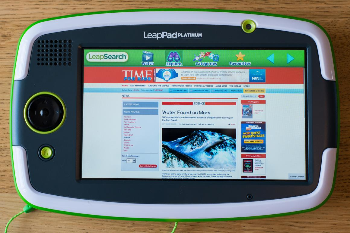 Review: LeapFrog LeapPad Platinum tablet for kids