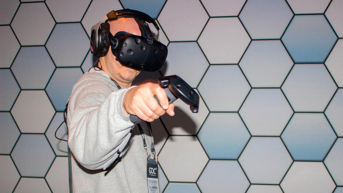 We took the Vive for another convention demo before its early April launch