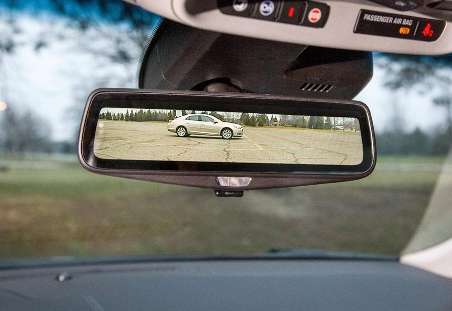 Cadillac is planning to replace the rear-view mirror with a video feed