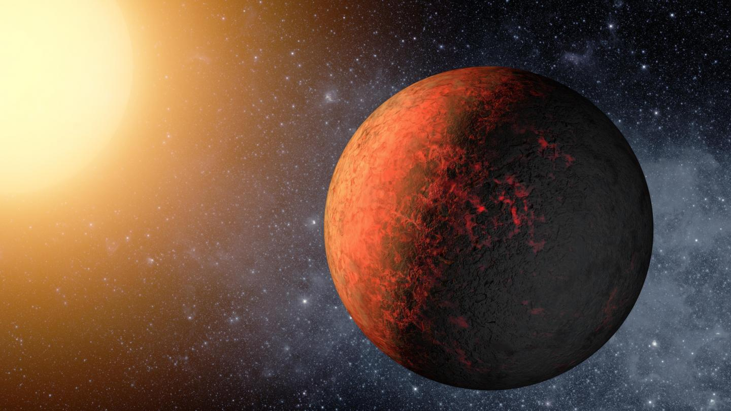 The new calibration tool should allow for more accurate detection of exoplanets, an example of which is pictured here as an artist's impression