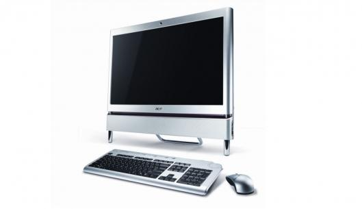 The Acer Aspire Z5610-U9072 is stylish and powerful offering much heralded multi-touch support