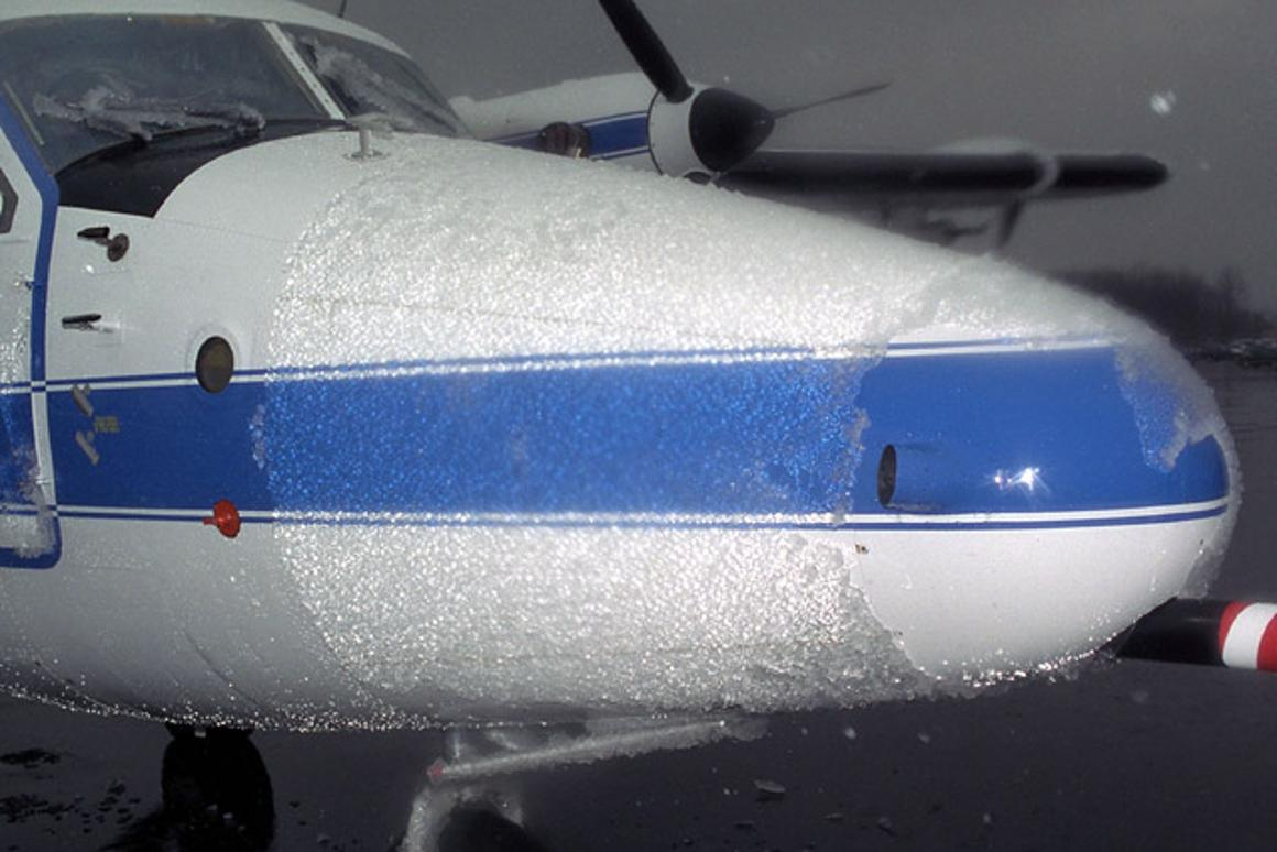 Icing on surfaces such as airplane fuselages could become a thing of the past, thanks to newly-developed nanostructured materials
