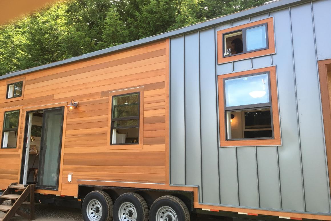 The price for the Rocky Mountain Tiny Homecame in at around US$125,000