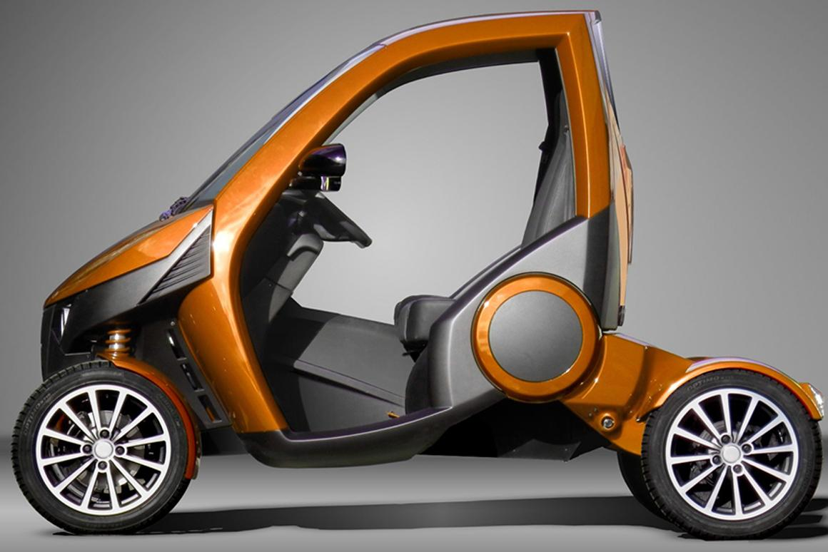 The Casple-Podadera boasts a unique folding characteristic to allow it to fit in tight parking spaces
