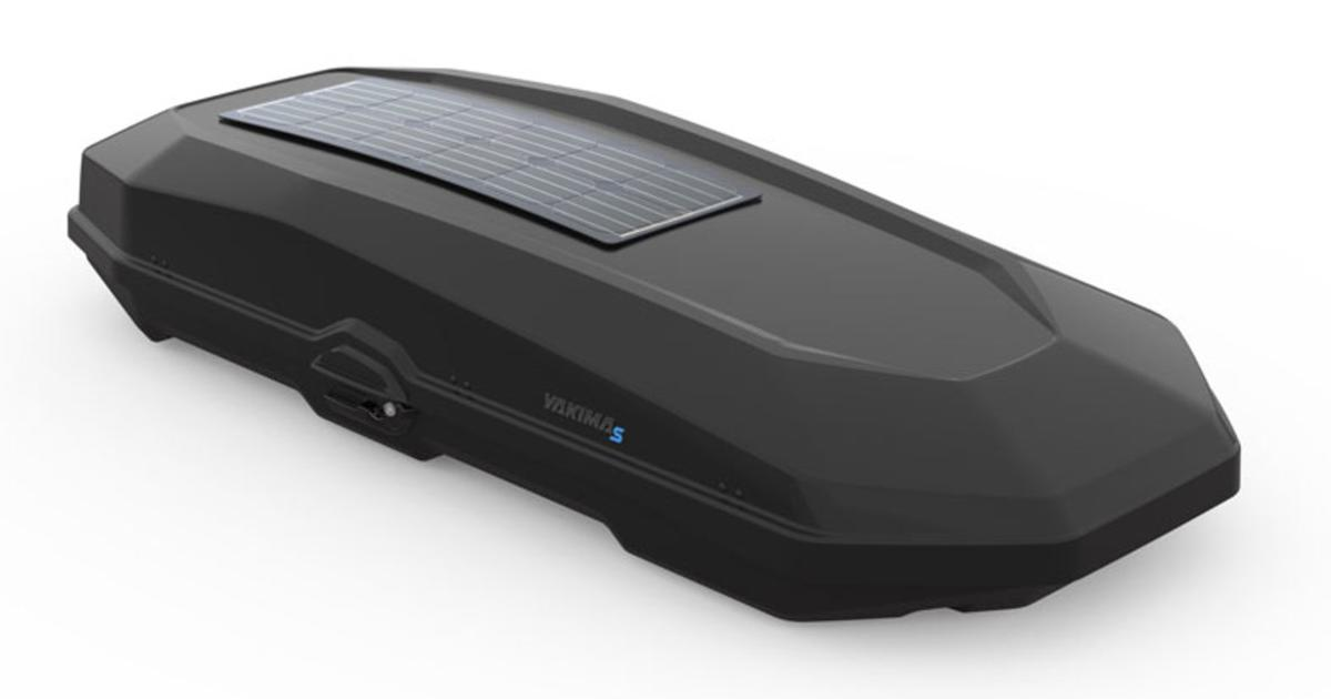 Yakima's latest car roof box brings integrated solar charging
