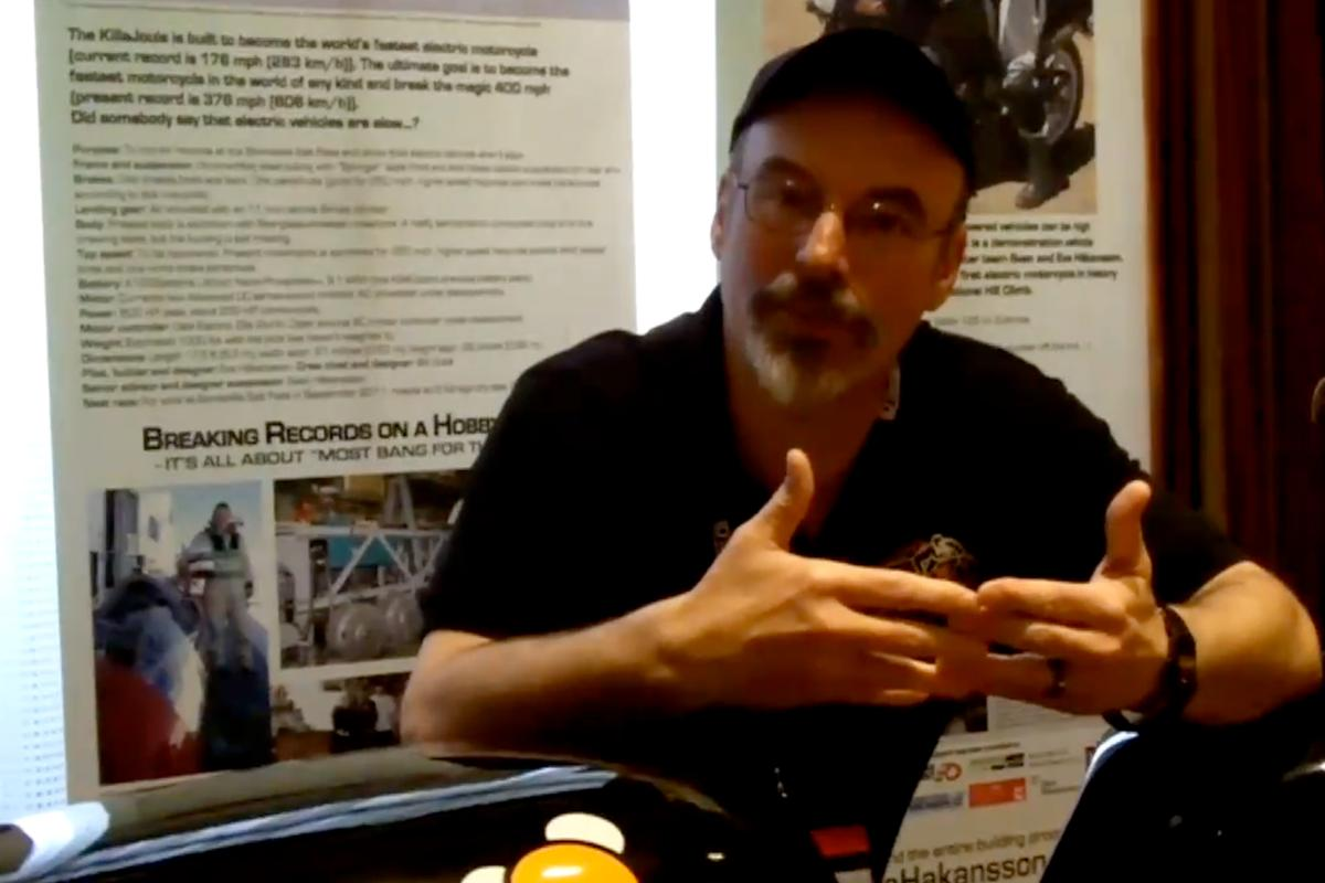 KillaCycle's Bill Dube talks to Gizmag at the Future of Electric Vehicles conference