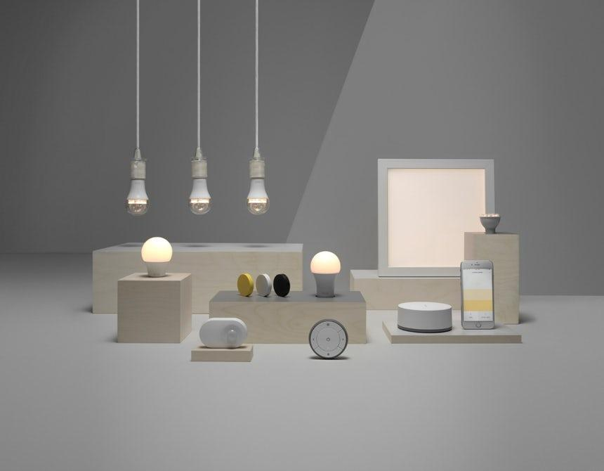 Ikea's Trådfri lights are a great entry point to smart lighting in your home