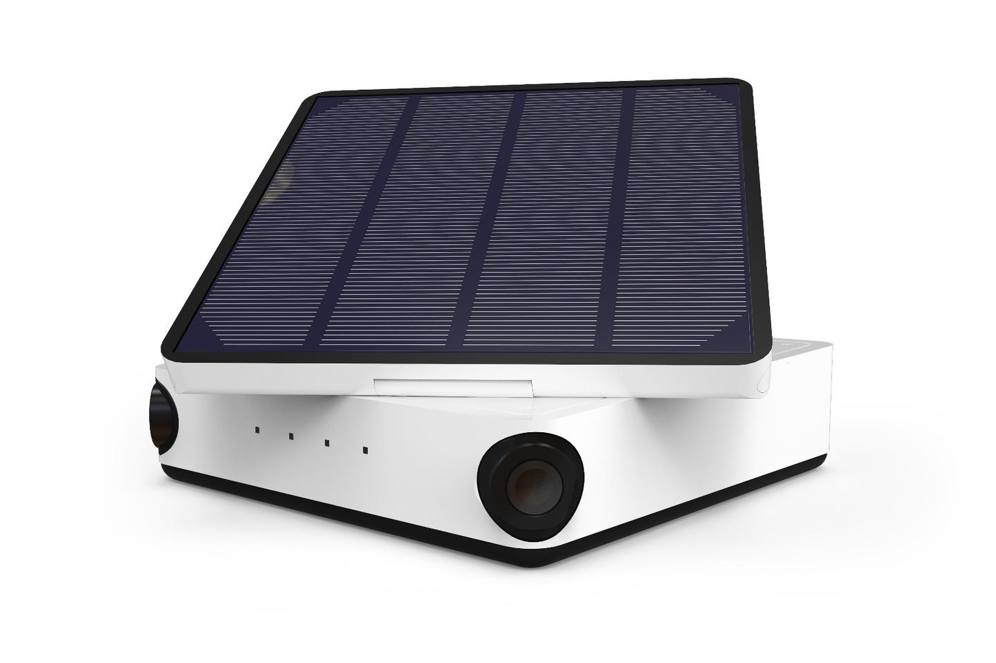 The solar panel and an integrated battery on the Tikee camera mean it can keep shooting of long periods of time