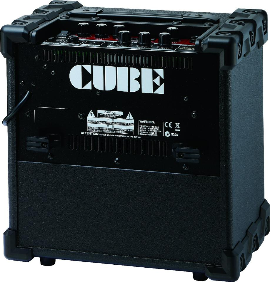 The rear of the Cube 15XL