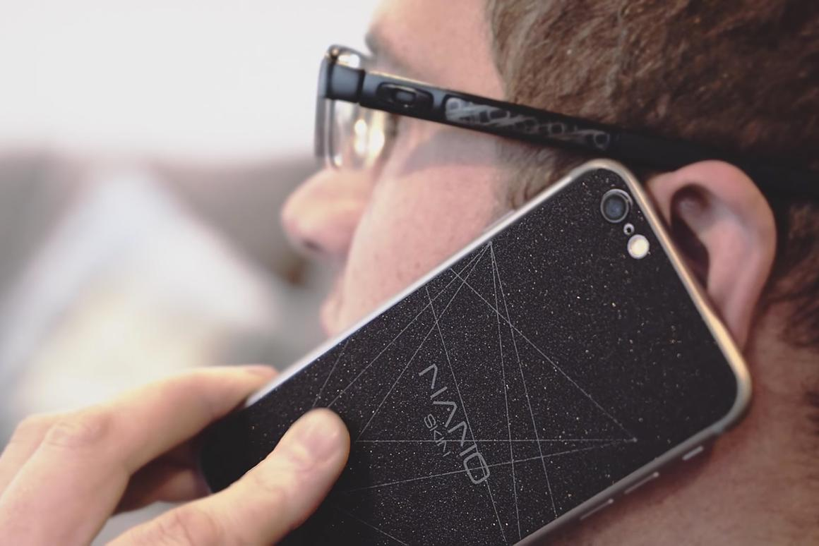 Graphene sticker promises up to 20 percent more smartphone