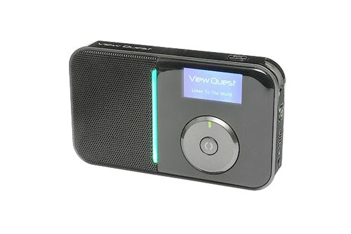 The WIFI200 portable Internet radio