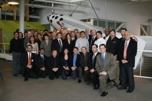 Competitors at the Google Lunar X PRIZE team announcementPhoto: X PRIZE FOUNDATION