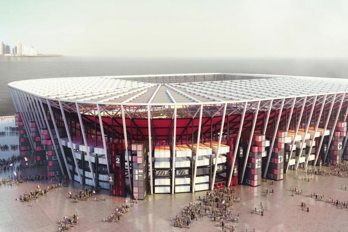 The Ras Abu Aboud Stadium is slated for completion in 2020