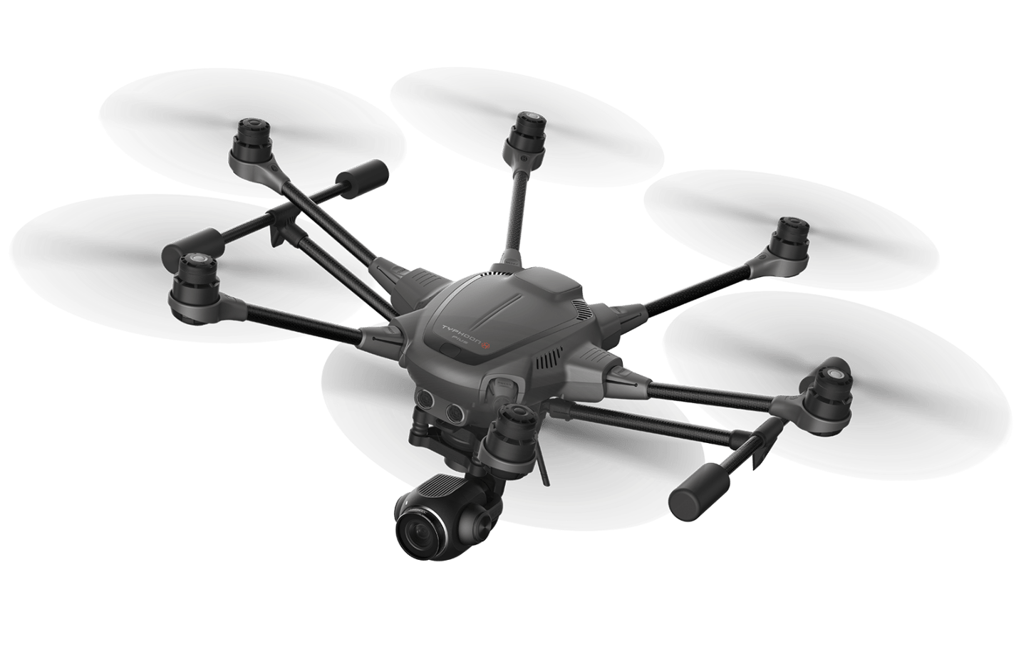 Yuneec's Typhoon H Plus is a 4K camera drone with retractable landing gear