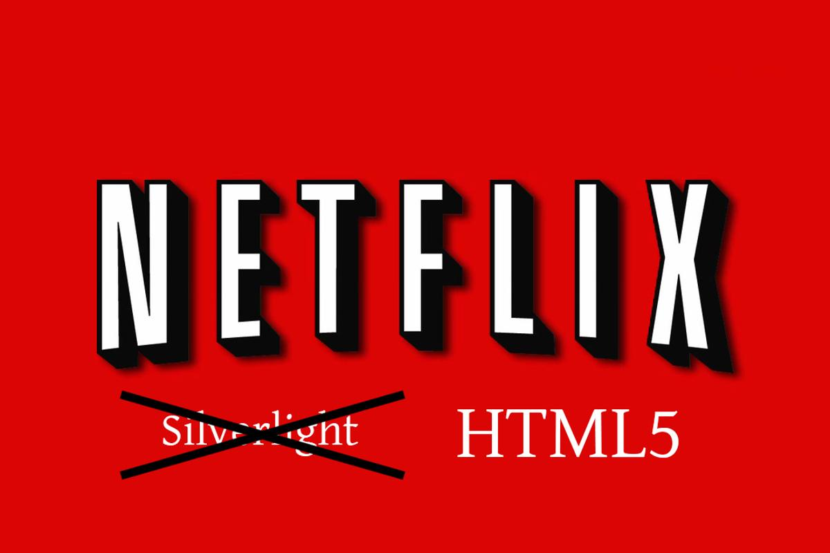 Netflix has announced its plans to move to HTML5 streaming