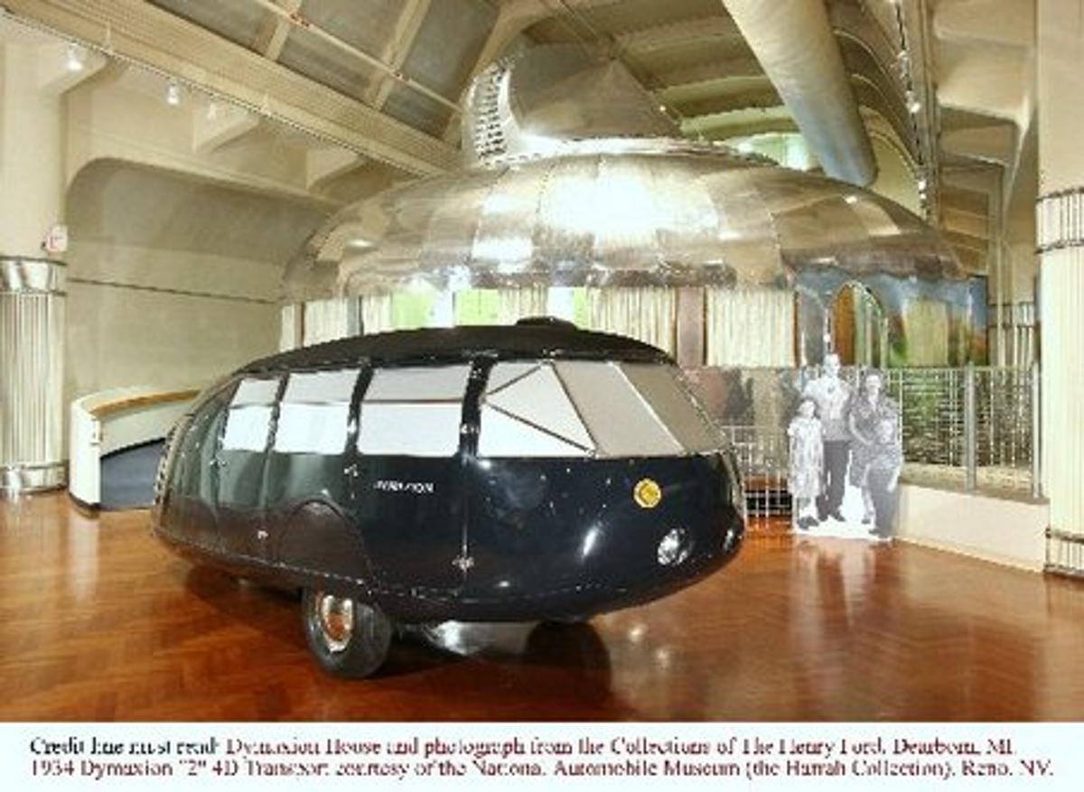 The last remaining original Dymaxion (Photo: National Automobile Museum, Reno, Nevada)